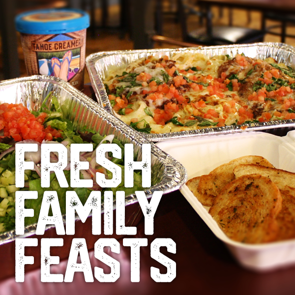 Family Feasts Delivered Curbside
